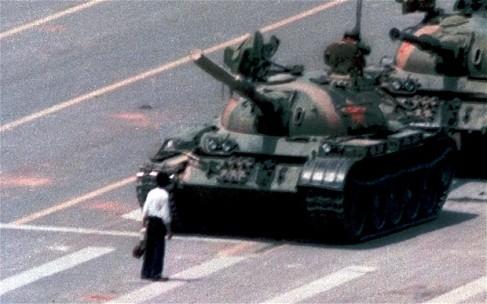 Tiananmen tank