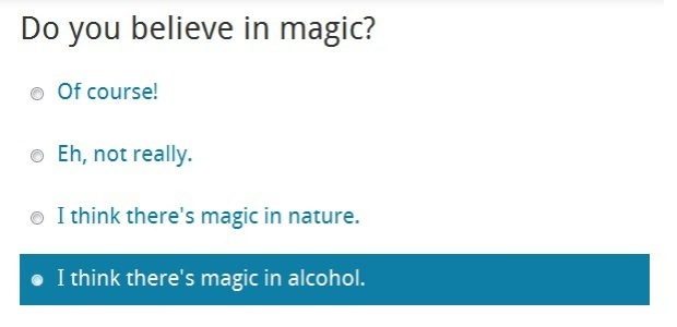magic alcohol