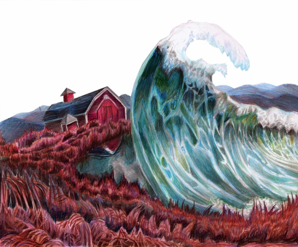 'Lettie Hempstock's Ocean', by Laura Beckman