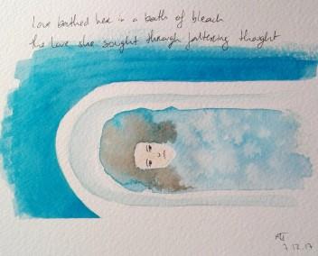 She Bathed Herself In A Bath Of Bleach